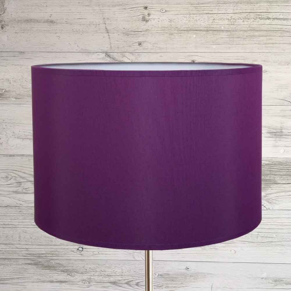 Drum Lampshade Purple